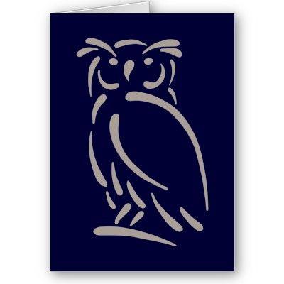 one stroke owl