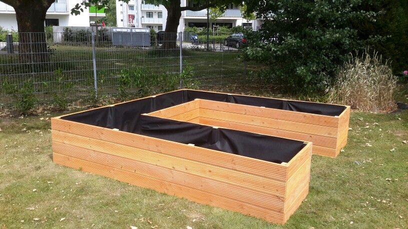 Hochbeet In U Form Gardening Pinterest Garden Und Mansions