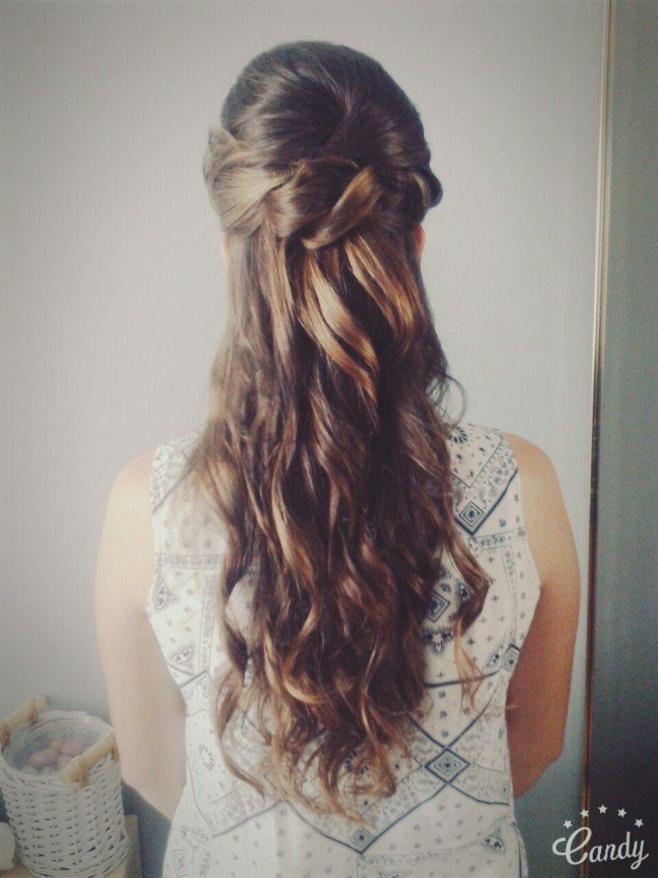 Moja Fryzura Na Wesele Na ślub Wedding Hair Curls Loki