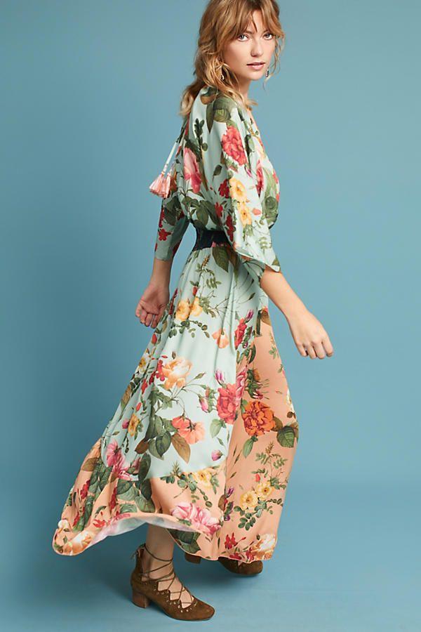 c4d5f0f530 Farm Rio Marilla Maxi Dress   Clothes inspiration   Farm rio ...