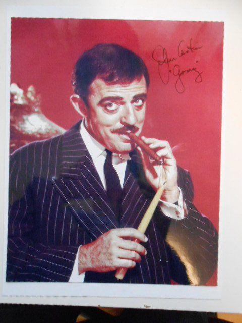 Addams Family rare John Astin signed 8x10 photo w/FanExpo COA  150.00
