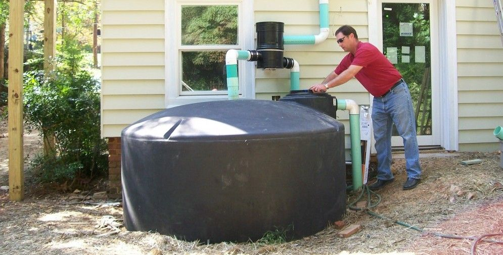 Rainwater Water Cistern Tanks   Pt. 2: Rain Harvesting For Your Home U2013 Water  Storage   Constant .