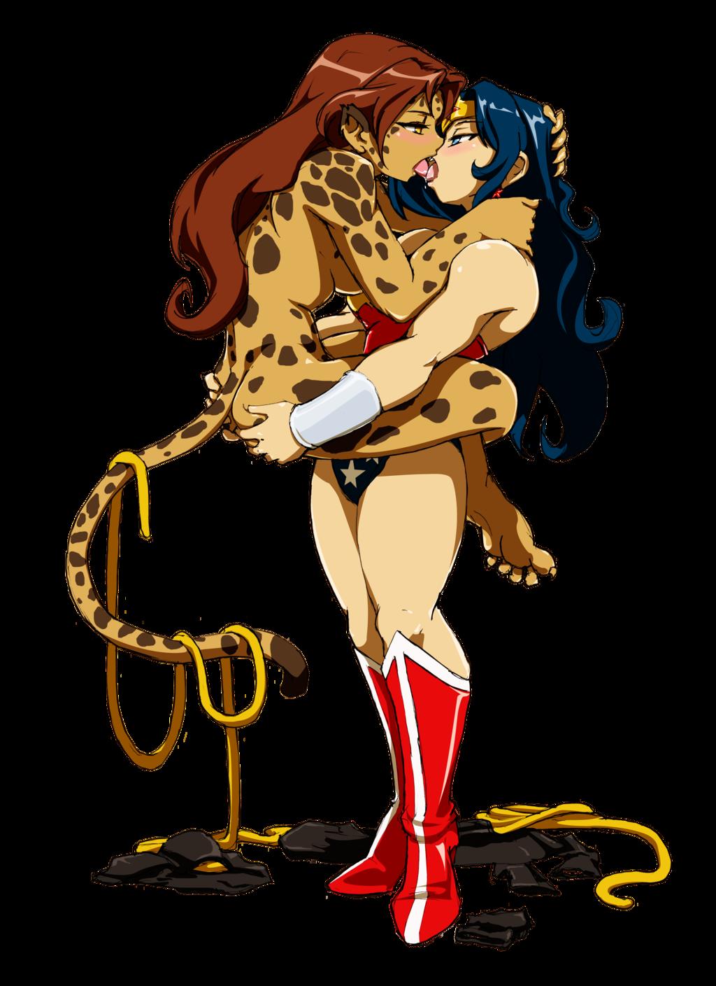 Cheetah & Wonder Woman | Cheetahs | Pinterest