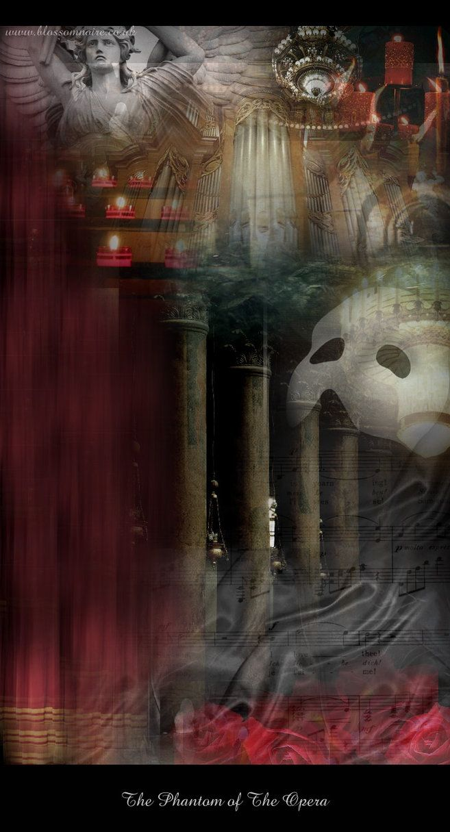 The Phantom of The Opera by glitterplague