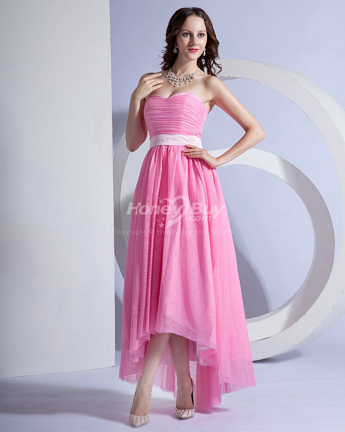 High low dresses high low chiffon pink prom dresses long perfect