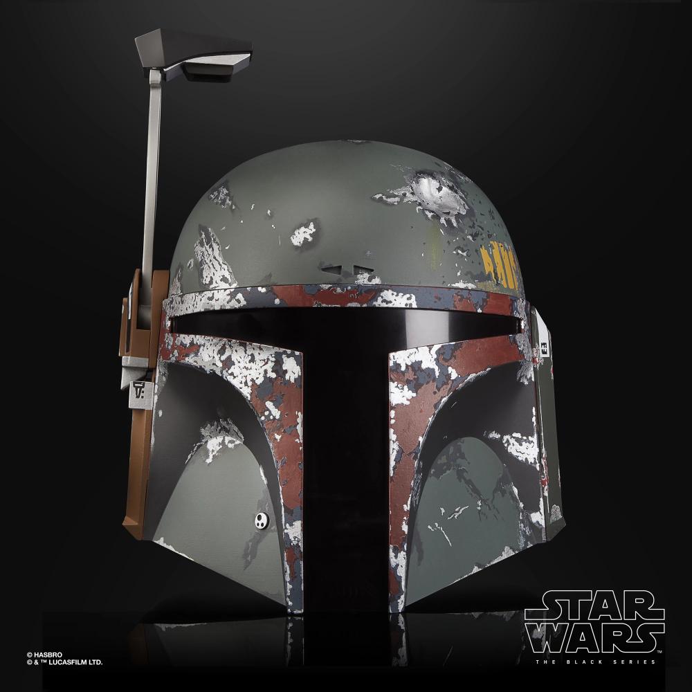 Star Wars The Black Series Boba Fett Premium Electronic Helmet Hasbro Pulse Boba Fett Helmet Boba Fett Star Wars Black Series