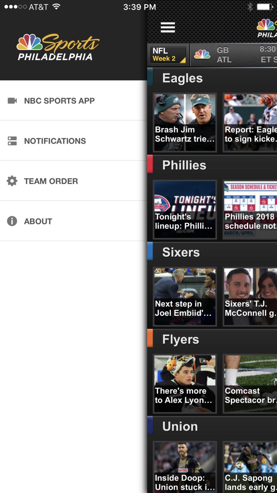 NBC Sports Philadelphia Nbc