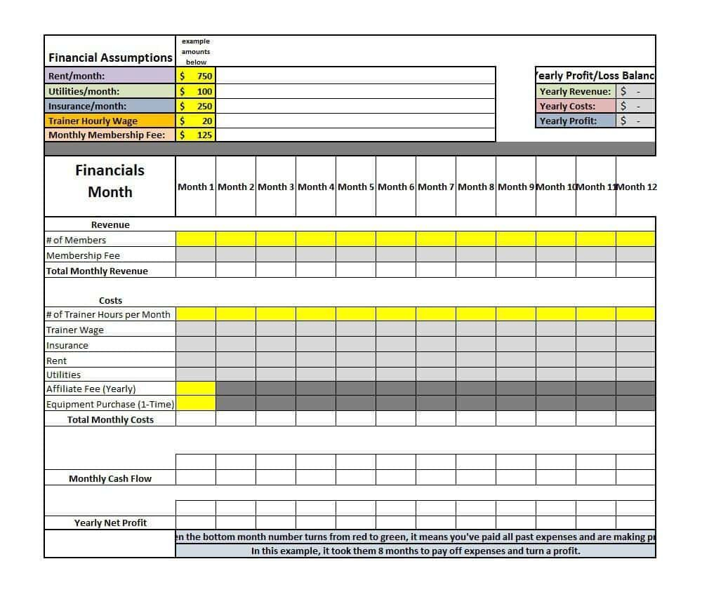 Monthly Profit And Loss Template And Simple Excel Profit And Loss Template Profit And Loss Statement Statement Template Cash Flow Statement