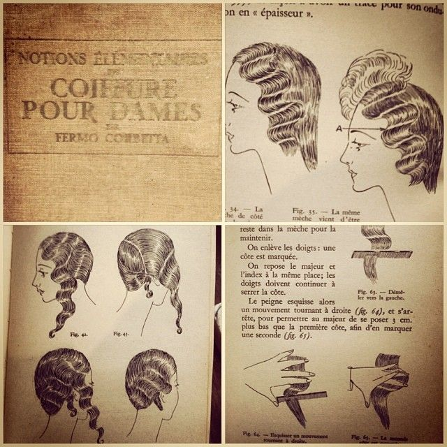 flapper haircut pictures finger waves 20 s 30 s hair tutorial for hair 3220