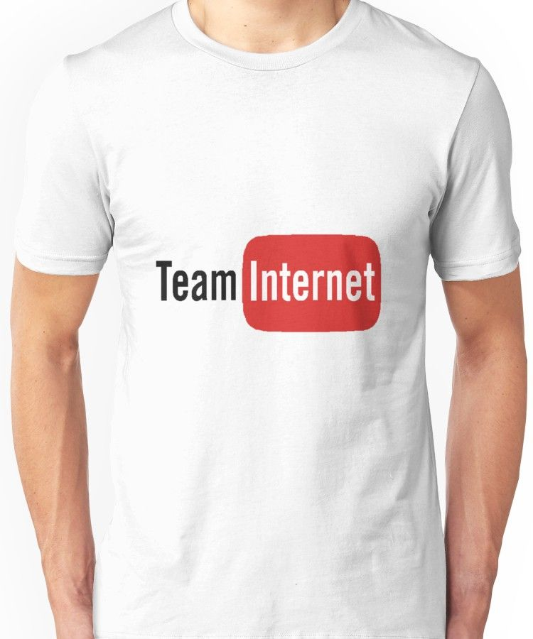 TEAM INTERNET Unisex T-Shirt