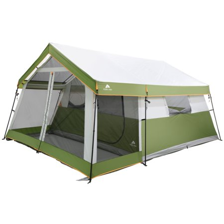 Ozark Trail 8 Person Family Cabin Tent With Screen Porch Walmart Com Cabin Tent Tent Family Tent