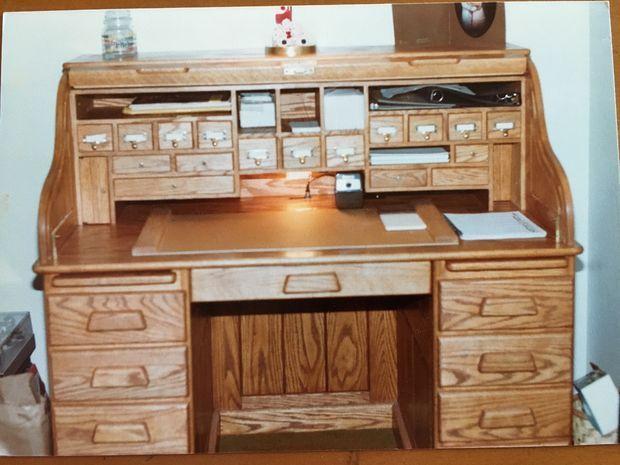 Rolltop Desk Diy Desk Plans Roll Top Desk Desk Plans