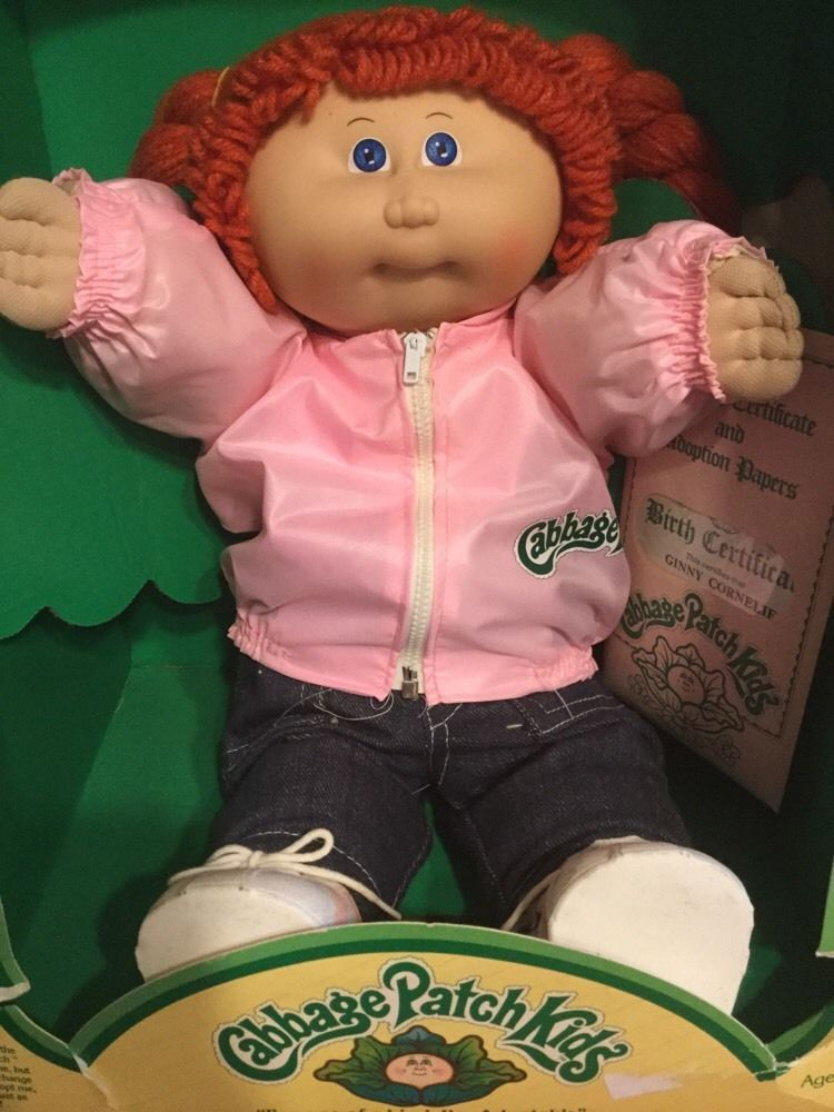 1984 Cabbage Patch Kids Charma Betty Blonde Hair Green Eyes Box Certificate Ebay Cabbage Patch Kids Dolls Cabbage Patch Kids Patch Kids