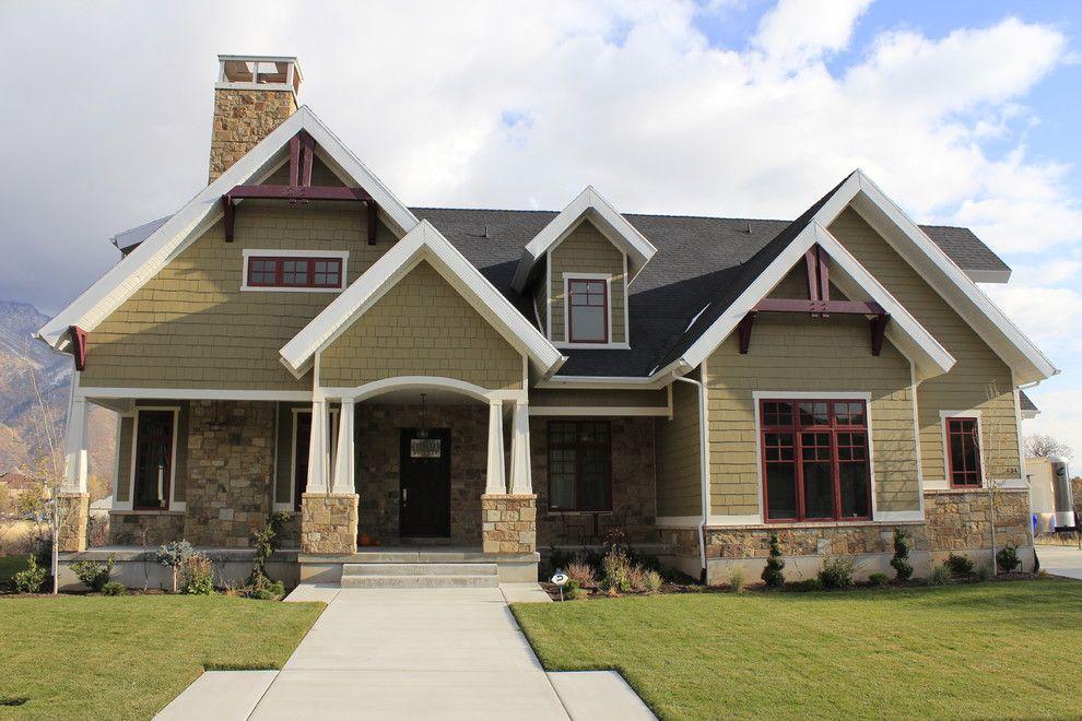 Front Exterior   Traditional   Exterior   Salt Lake City   Joe Carrick  Design   Custom Home Design