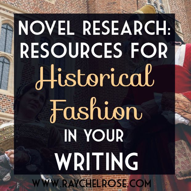 004 Novel Research Resources for Historical Fashion in Your