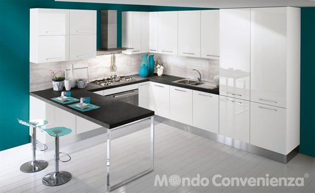 Katy - Cucine - Moderno - Mondo Convenienza | КУХНІ | Pinterest ...