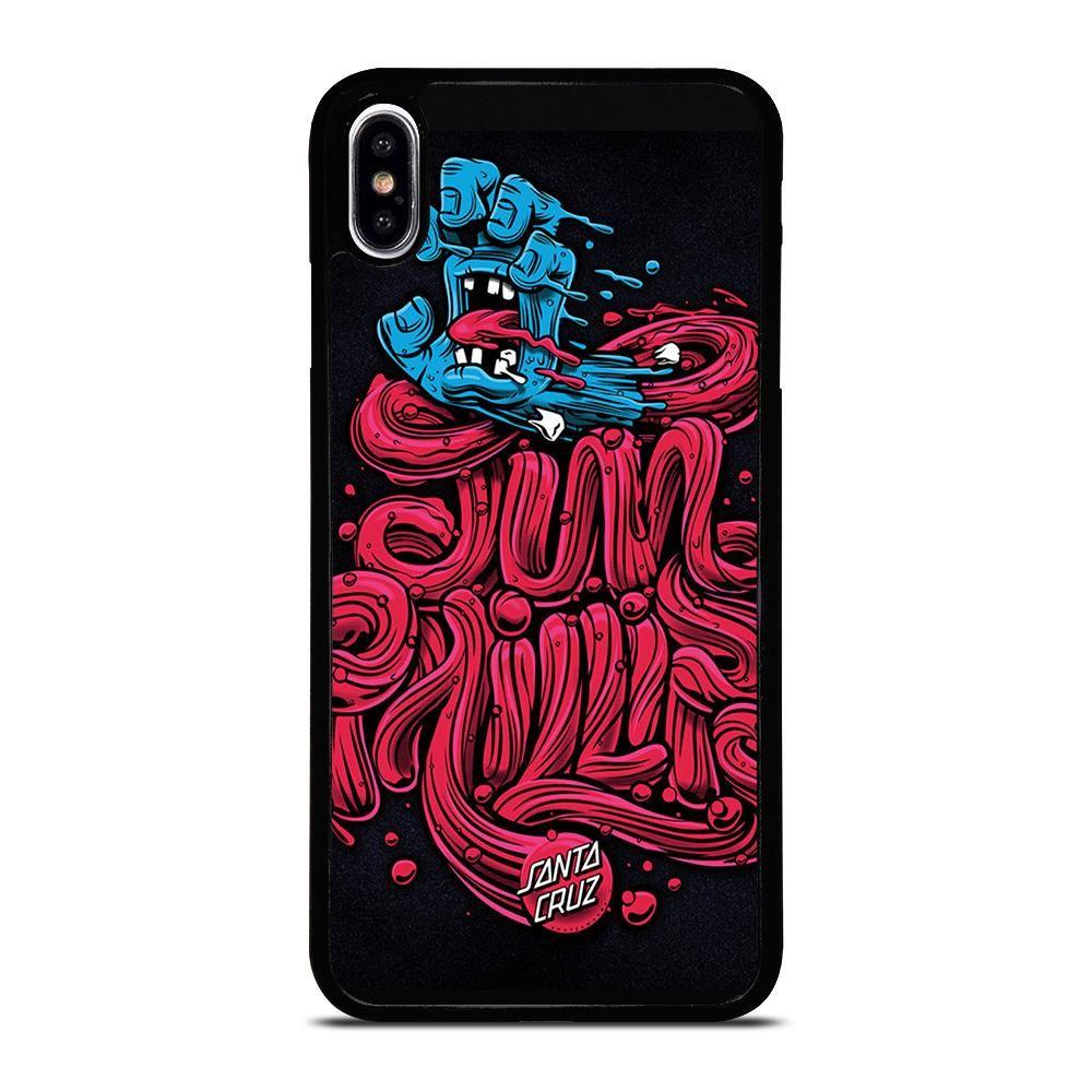 Santa Cruz Skateboards Clipart Iphone Xs Max Case Casesummer Iphone Iphone 11 Case