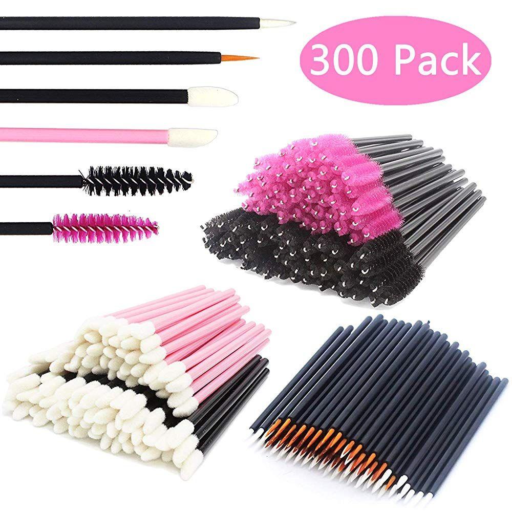 JIULORY Disposable Makeup Applicators Mascara Wands and