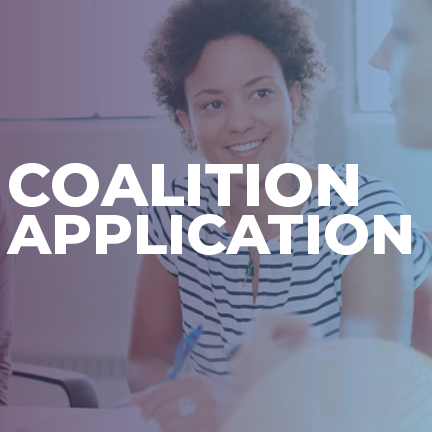 For more information on the coalition application, log
