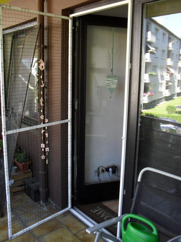 Balkontur Und Fenster Mit Katzennetz Ohne Bohren Katzennetz