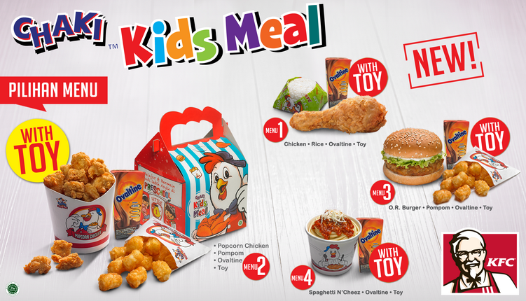 Kfc Toy Food : Kfc kids menu