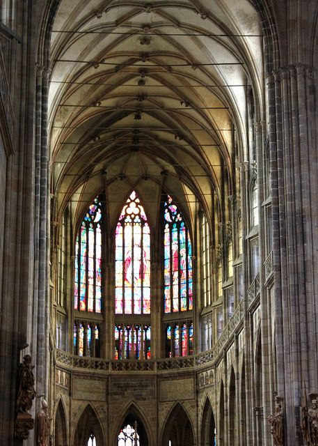 Nave of St. Vitus Cathedral | Flickr: Intercambio de fotos