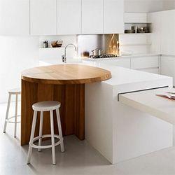 questo contatore altezza legno tinello una giustapposizione bella per lisola cucina pulito e