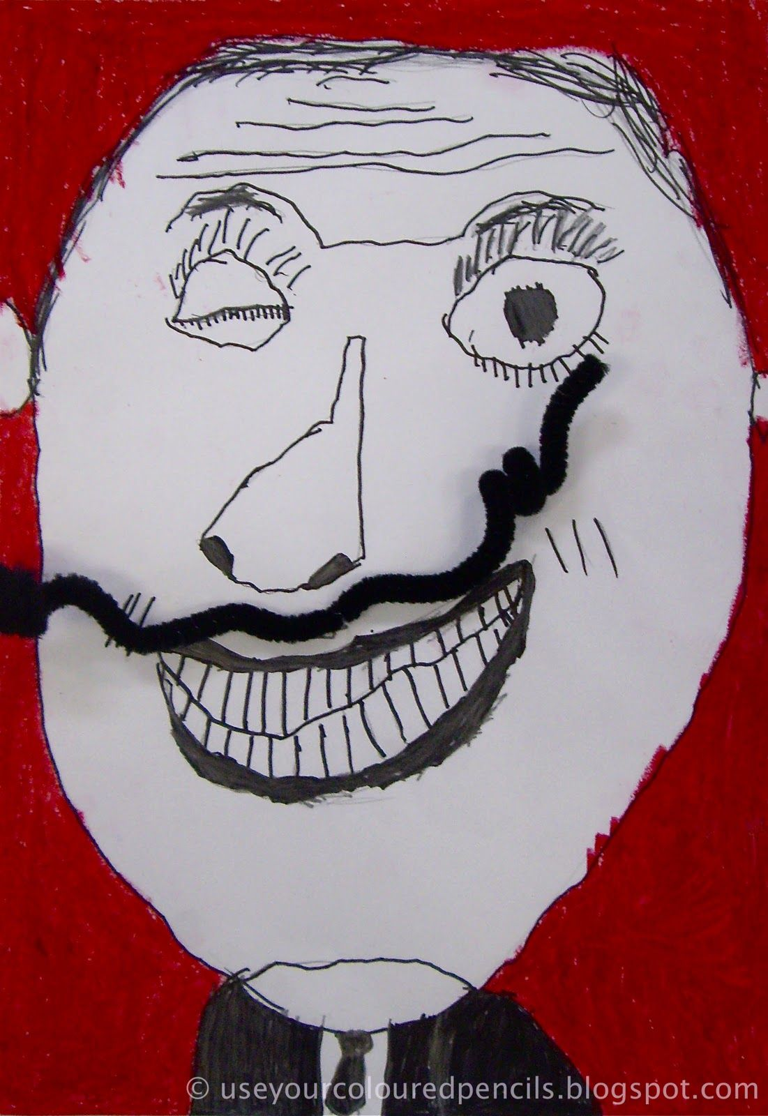 Dali The Man of Many Moustaches Dali art