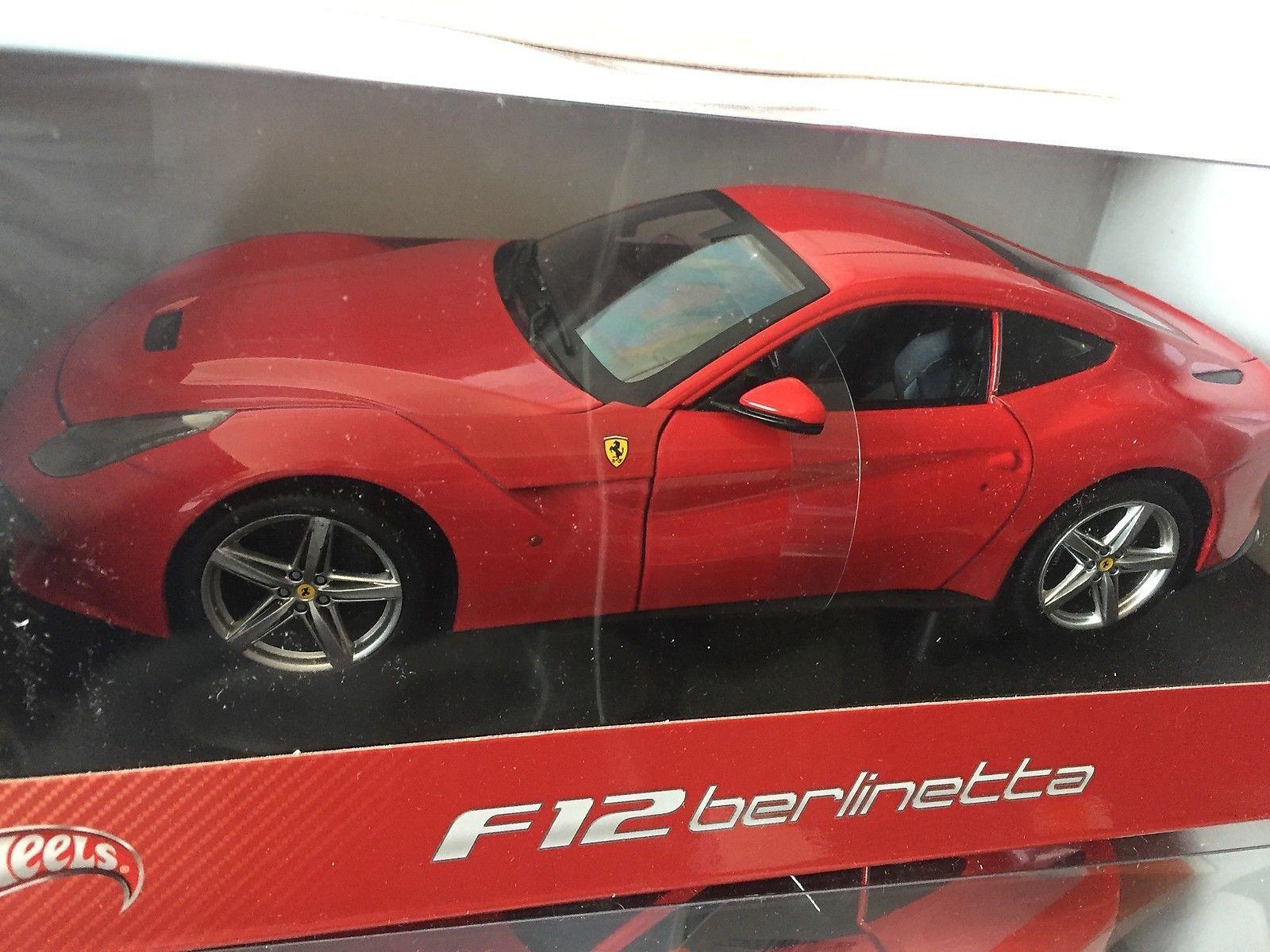 Transformer 304 Ferrari F12 Berlinetta Red Hot Wheels 1 18 Hot Wheels Ferrari F12 Red Hot