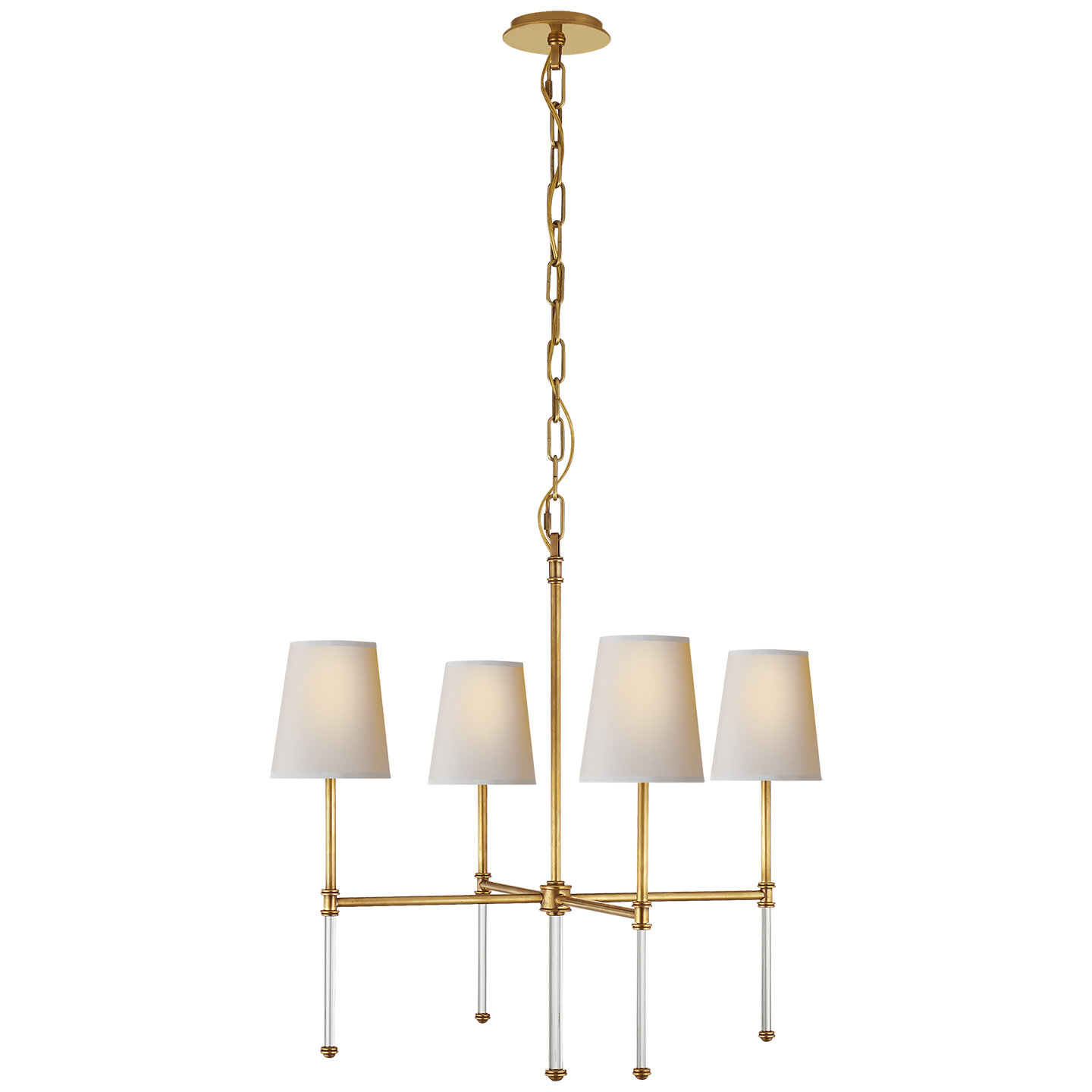 Small Chandelier Shades Hand rubbed antique brass with natural paper shades would do two of hand rubbed antique brass with natural paper shades would do two of them chandelier audiocablefo