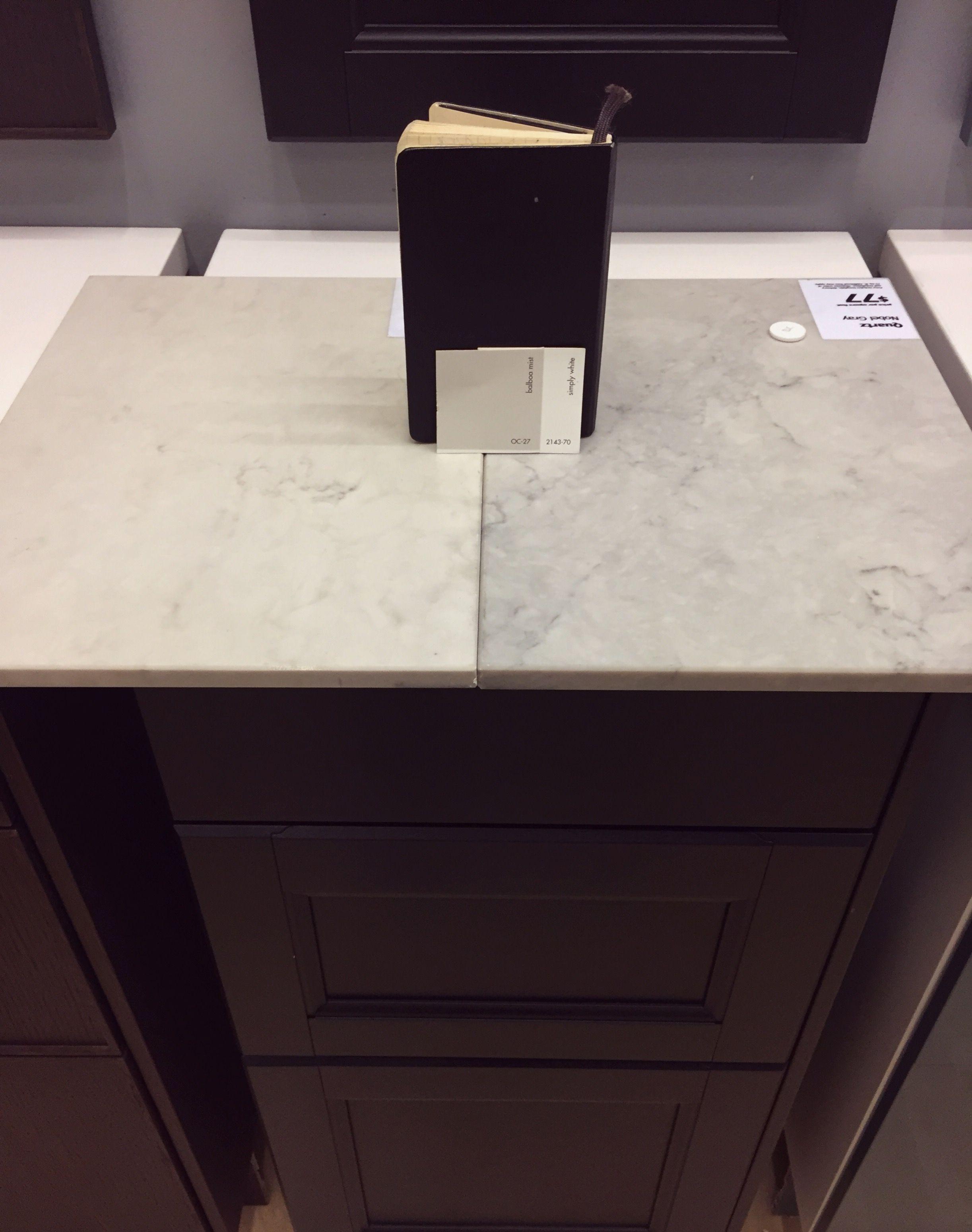 Caesarstone Countertop Options At Ikea London Grey Vs
