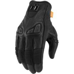Photo of Icon Automag Damen Motorradhandschuh Schwarz 2xl Icon 77