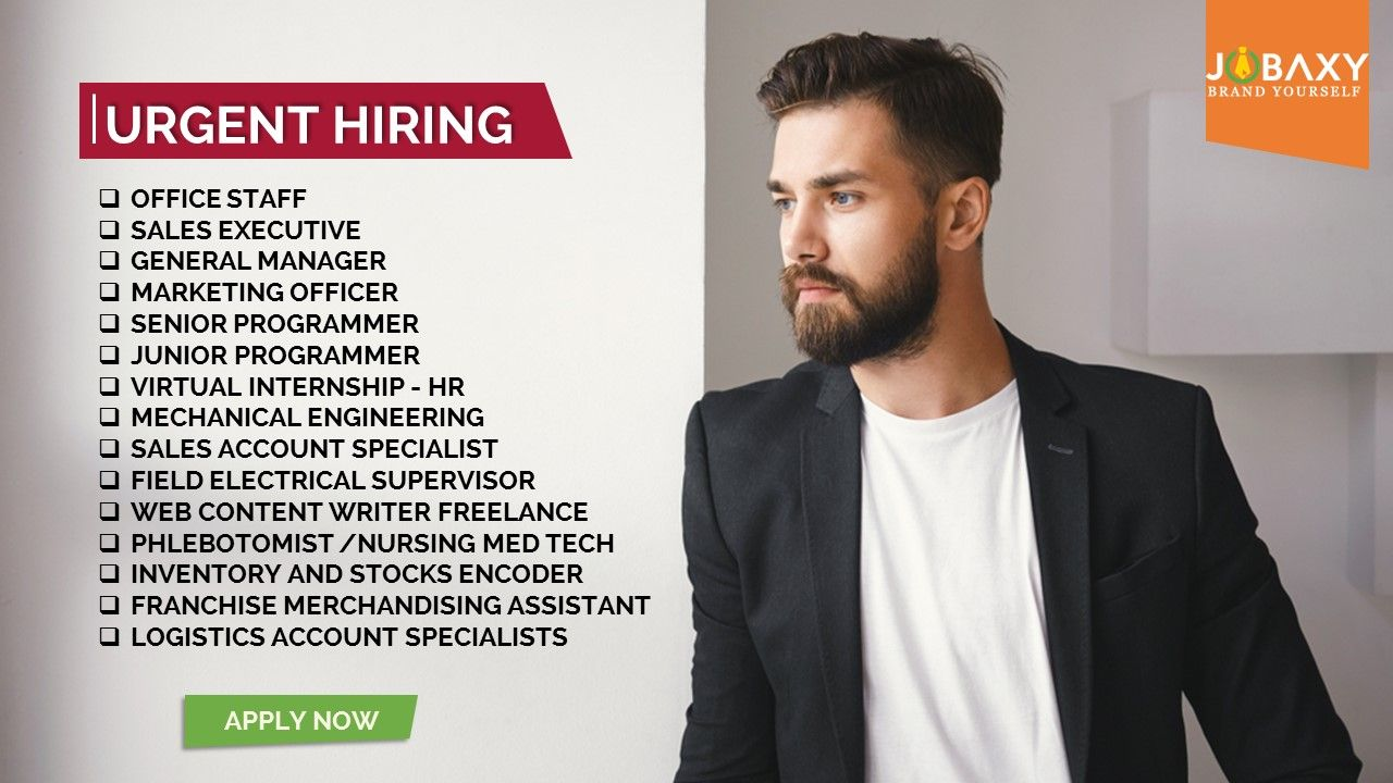 Find the latest job vacancies near you for fast easy