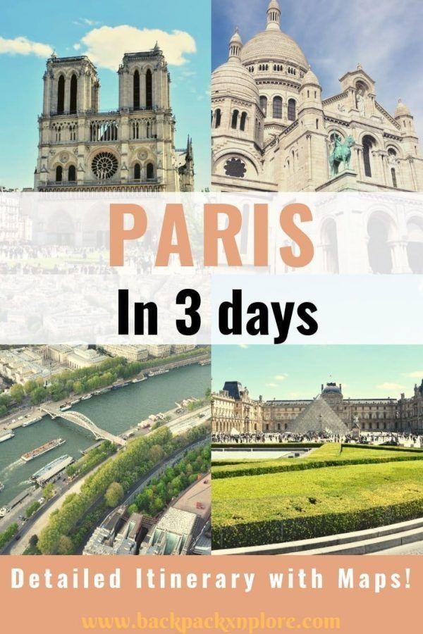3tägige ParisReiseroute für Erstbesucher  Gypsy With A Day Job  Travel Blog   3tägige ParisReiseroute für Erstbesucher  Gypsy With A Day Job  Travel B...