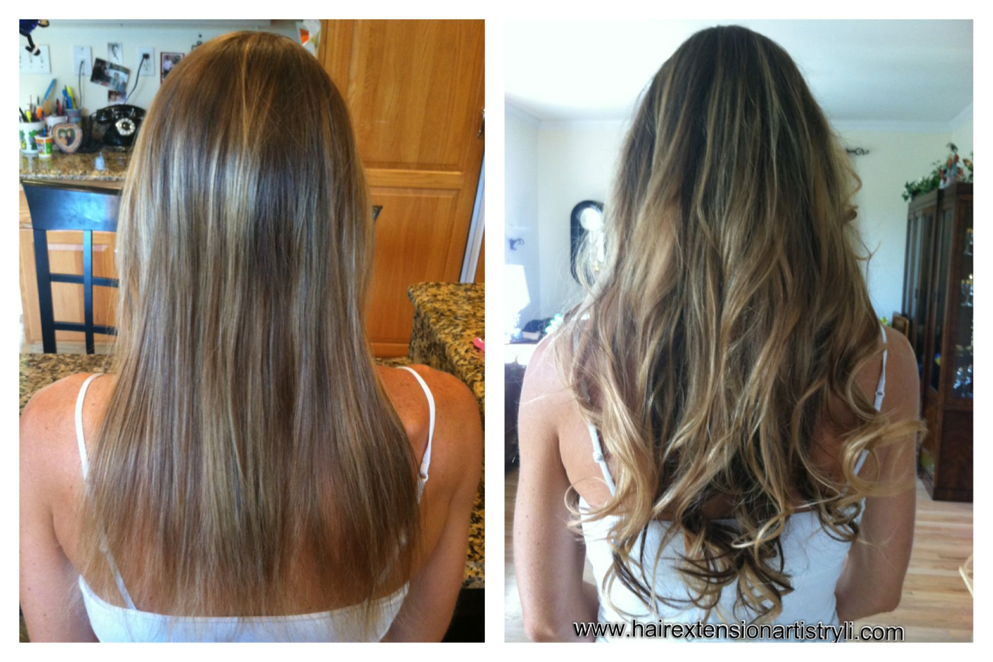 Hollywood Makeover With Ombre Hair Extensions Long Island Hair