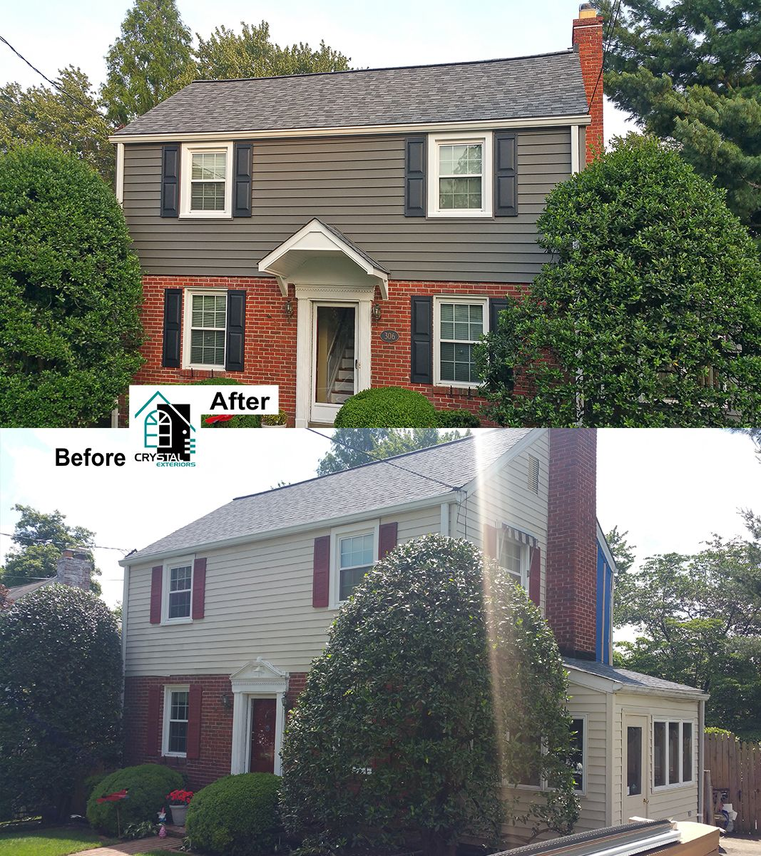Siding Gallery Siding Replacement Works Crystal Exteriors Insulated Vinyl Siding Siding Replacing Siding