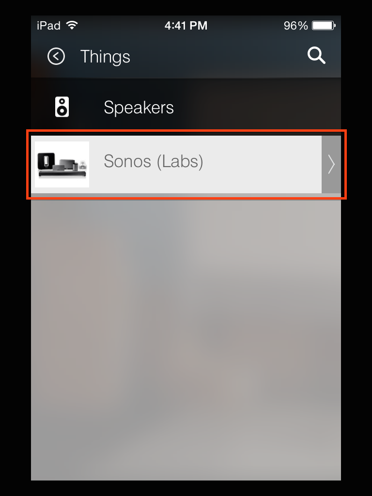 SETUP Connecting Sonos to SmartThings SmartThings