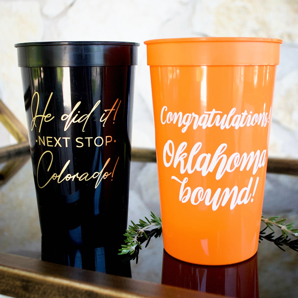 Personalized Party Cups | Design Your Own Party Cups | For