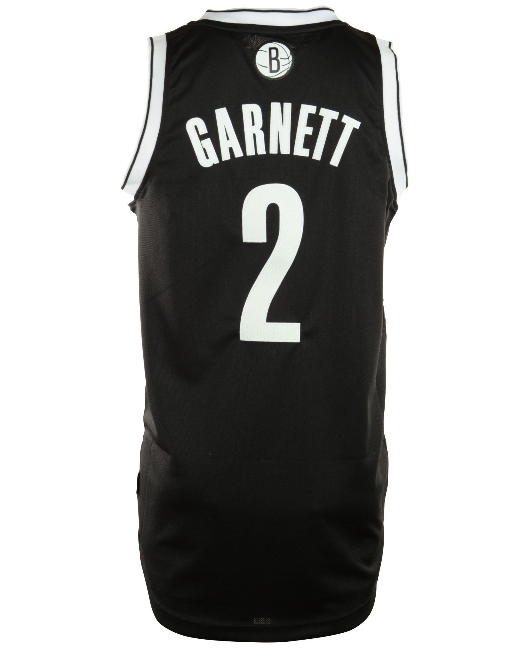 brand new 7c5d6 6db3f adidas Men's Kevin Garnett Brooklyn Nets Revolution 30 ...