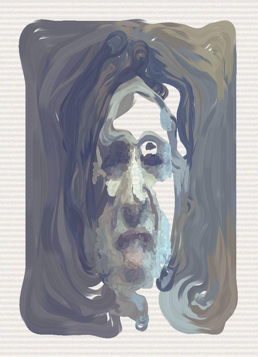 The Painting Fool: Un ordinateur doté d'une intelligence artificielle a réalisé ce tableau grâce à son imagination.