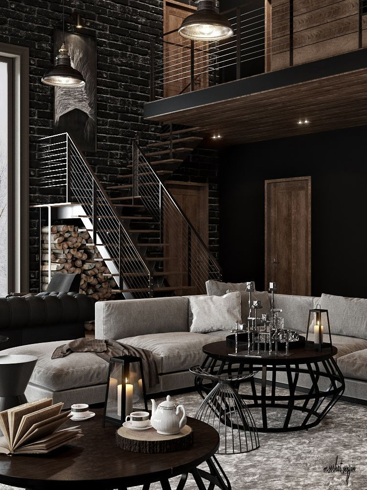 Home Decor Trend To Know Industrial Living Room Rustic Livingroomideas Lindustrial Livingroom