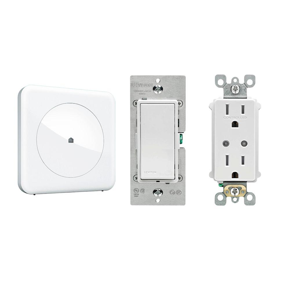 Smart Home Convenience with Wink Hub, Leviton In-Wall Switch and ...
