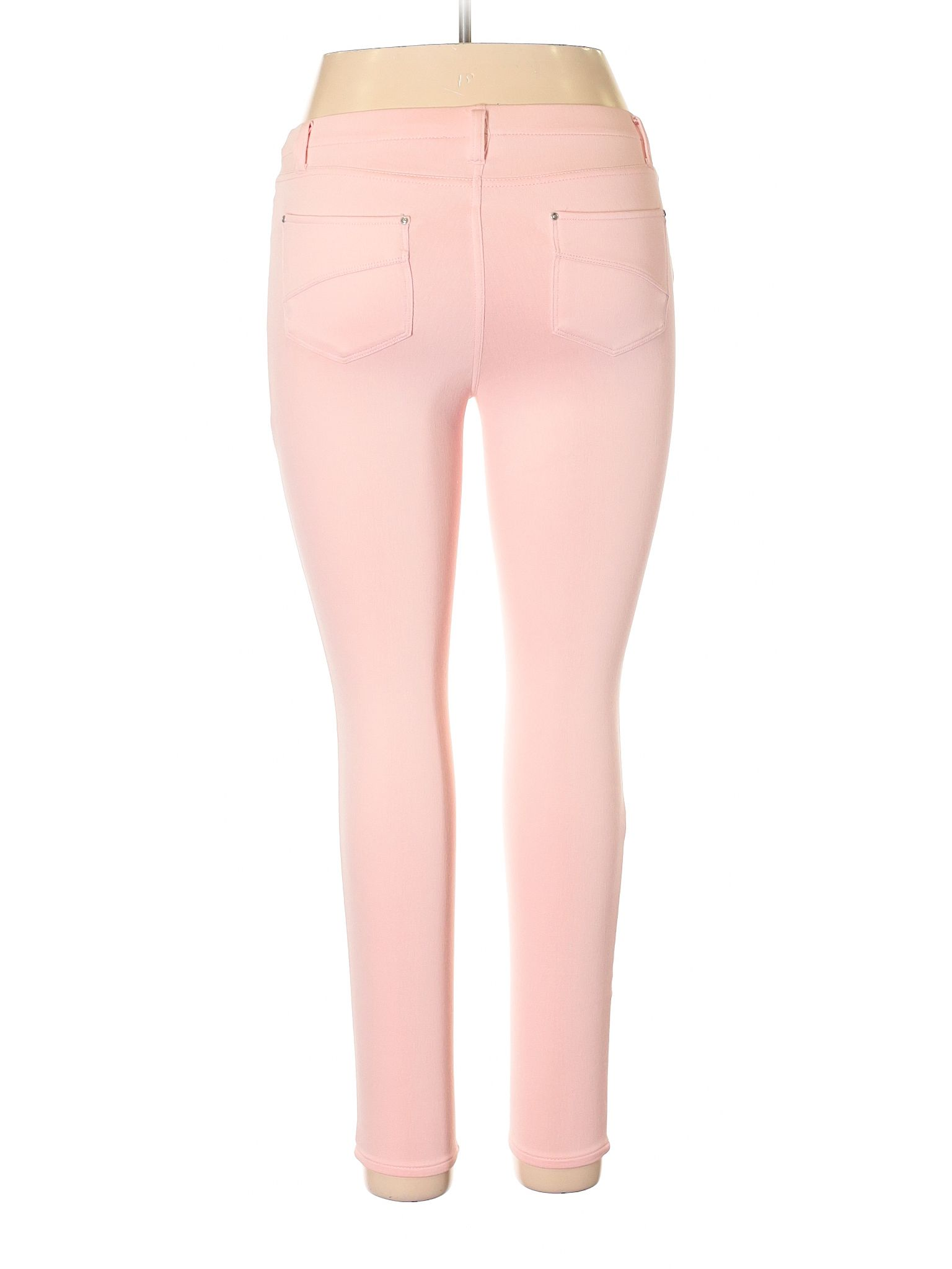 Time And Tru Casual Pants Size 800 Light Pink Womens