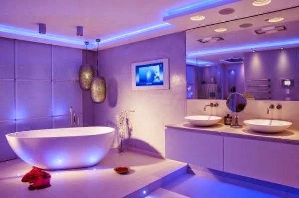 Elegant Modern Bathroom Lighting Ideas, Modern Led Bathroom Lighting