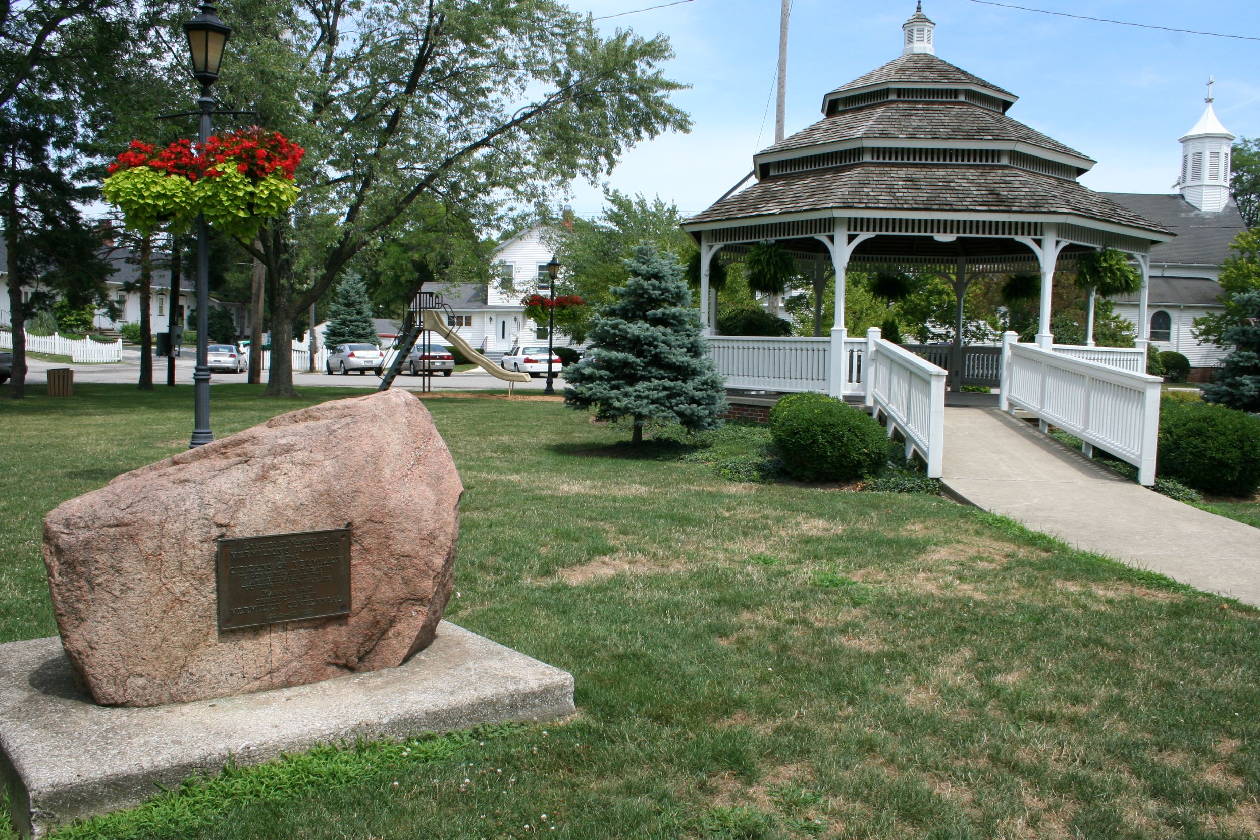 Ohio erie county vermilion - Victory Park Gazebo Vermilion Ohio