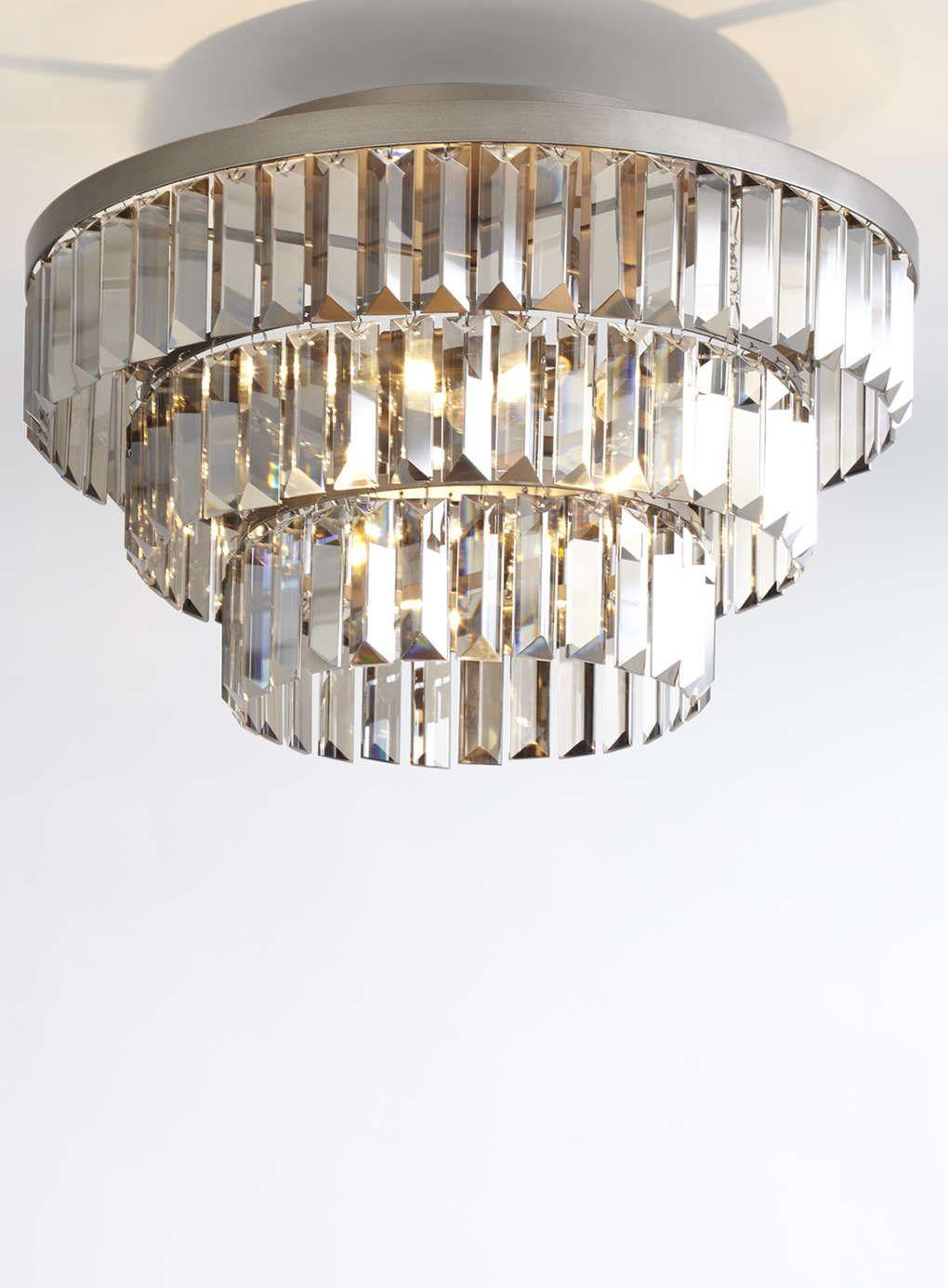 Bathroom Lights Bhs - Amina flush ceiling light bhs