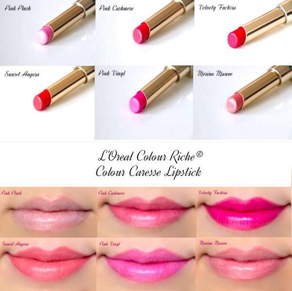 Loreal Lipstick Color Chart Chocolate Velvet