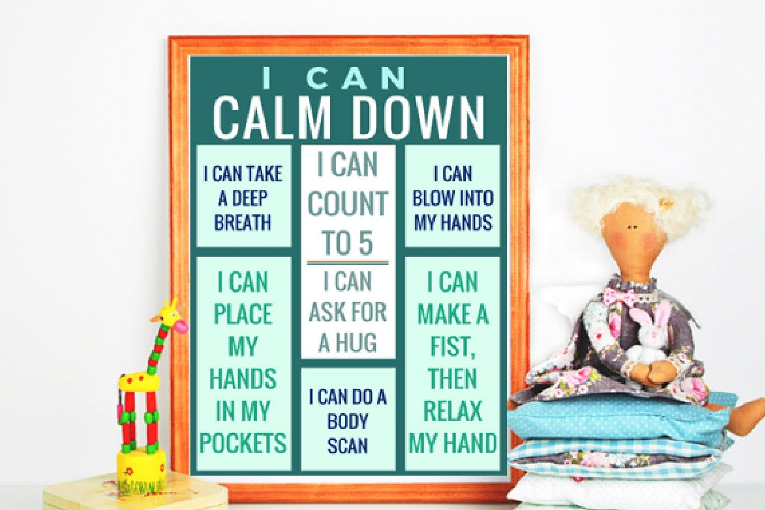 Free Calm Down Printables to Add to Your Calming Corner