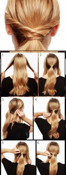 25 schnelle frisuren für mittlere und lange haare für