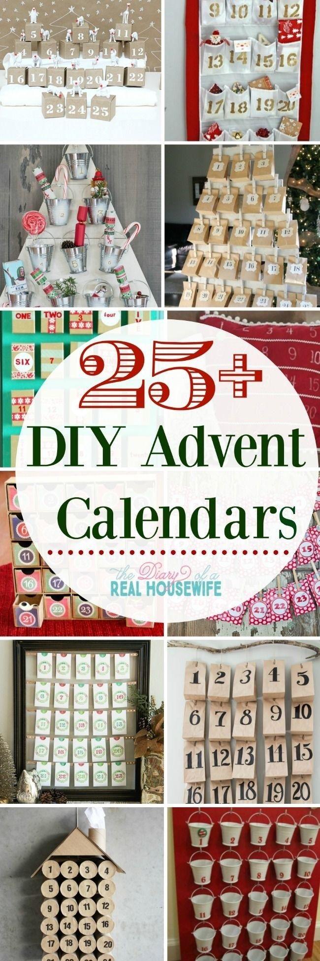 Ein selbstgemachter DIY Adventskalender für dein Kind